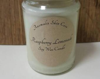 300g Raspberry Lemonade Soy Wax Candle