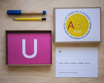 ABC-box for preschoolers and school