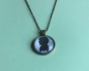 Sherlock glass necklace