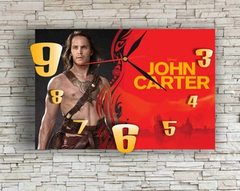 John Carter 11.8'' Handmade WONDERFUL Wall Clock