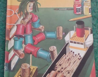 Vintage ladybird book Toys and games to make