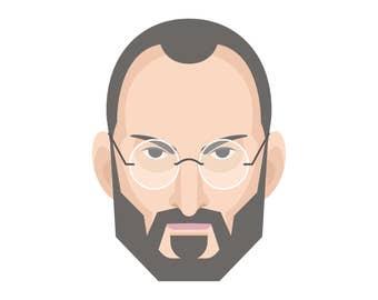 Steve Jobs Digital Print