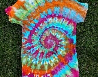 One of a Kind Ice Dye/Tie Dye Tshirt!