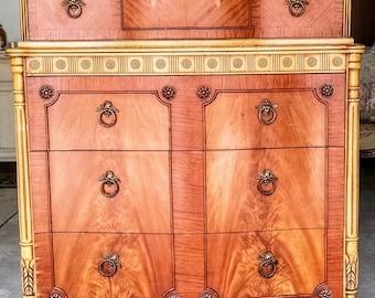 Vintage Antique Dresser - Mahogany