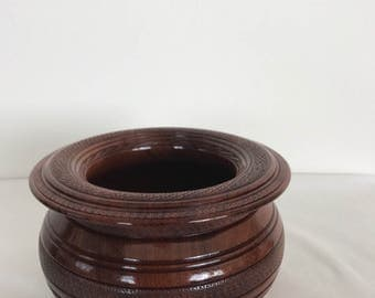 Bubinga Bowl (B123)