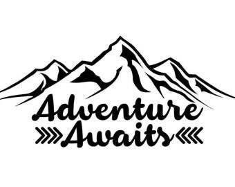 Adventure decals / Adventure stickers / Car decals / Car stickers