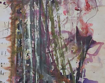 Original abstract painting, Acrylic on canvas