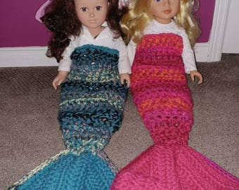 """Mermaid Tails for 18"""" dolls"""