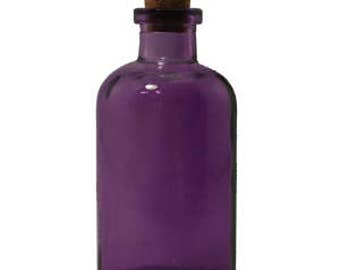 8 oz Purple Apothecary Glass Bottle for Reed Diffuser