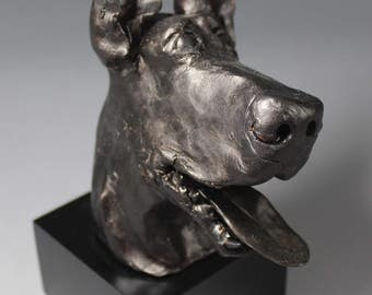 Custom Dog Sculpture-Joker