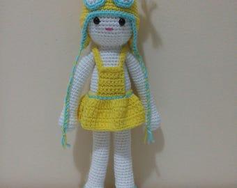 amigurumi, toys, handmade toys, doll, gift