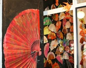 Venetian carnival fans
