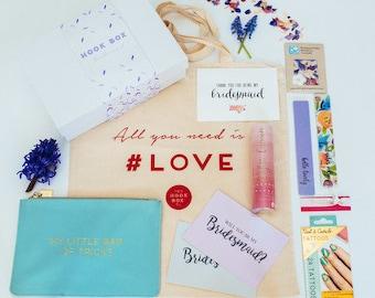 Bridesmaid box - bridesmaid gift box