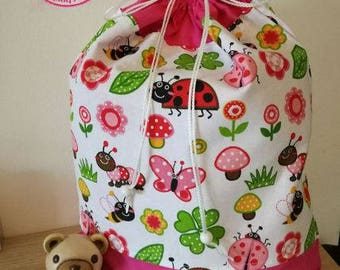 Kindergarden bag girl