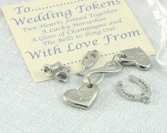 Wedding Token Charms Keepsake Favours