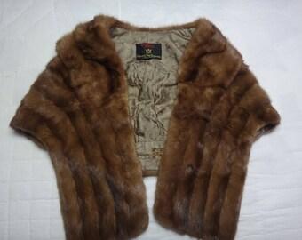 Vintage Hudson's Bay Fur Stole