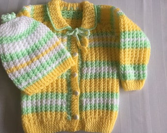 HandMade wool Jacket and hat