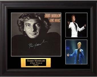 Barry Manilow Signed Album