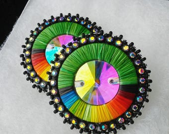 Native American Quilled Earrings