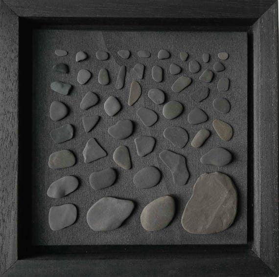 Flotsam and Jetsam collage black stone image
