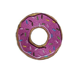 Donut Embroidered Patch