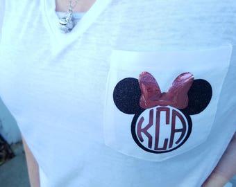 Custom Disney Monogram