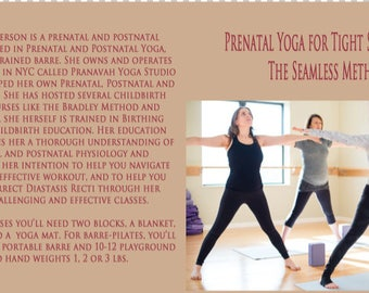 Prenatal Yoga for Tight Neck and Shoulders