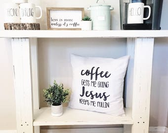 """Coffee Gets Me Going 