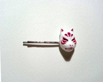 KITSUNE-MEN Japanese traditional fox mask motif hairpin