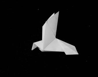 Receipt Origami - Humming Bird