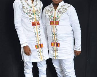 African wear, Boys wear, African Clothing, Boys Clothing, African Design, Embroidery, TOP ONLY