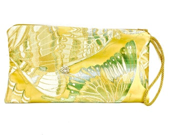 BUTTERFLY LADY Clutch - Gold