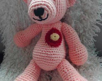 Crochet bear MamaBär
