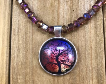 Peaceful Tree of Life Necklace