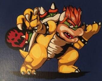 King Bowser/ Nintendo Villain / Koopa King / Smash Bros Character