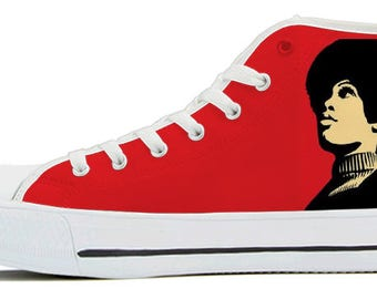 SOUL SISTA High Top Canvas Shoes