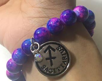 Galactic Zodiac Charm Bracelet