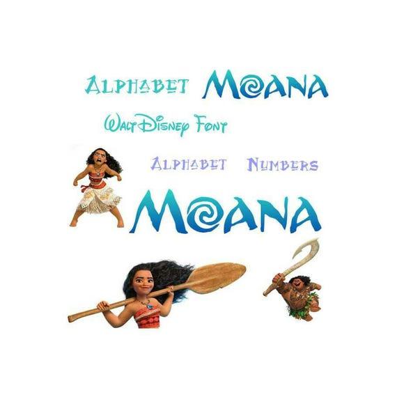 Moana Font,svg Moana, Alice Wonderland,alphabet,disney