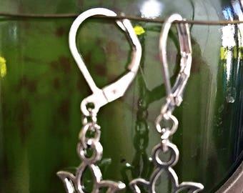 Baby Lotus Earrings