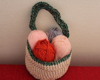 Sen - So in nylon and cotton basket