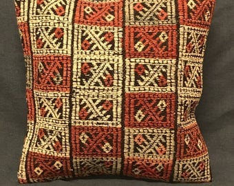 Bohemian Kilim Pillow, Boho Pillow, Handmade Pillow Cover, Ethnic Pillow, Turkish Kilim Pillow, Vintage Pillow, Boho Pillow, Turkish Pillow