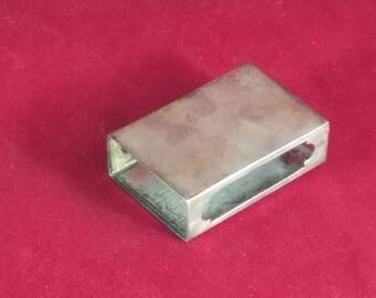 R Blackinton Sterling Silver Matchbox Cover - VINTAGE