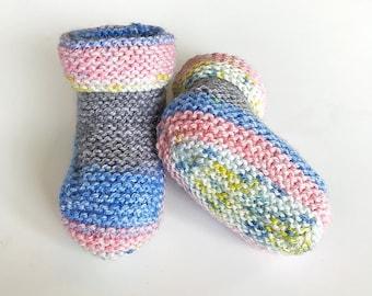 Handmade baby Ugg style booties