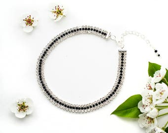 Rhinestone Necklace|for|Woman Jewelry Gift under 20 Gift Idea|for|Woman Birthday Gift Crystal Rhinestone Jewellery Trend Choker Necklaces