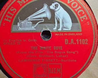LAWRENCE TIBBETT The white dove-When I'm looking at you Ex Condition D.A.1102