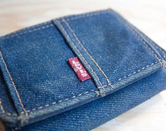 Awesome 80's Levi's Denim Wallet