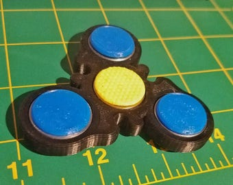 Original Design 'The Black&Blue' Spinner
