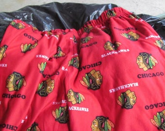 Boys Chicago Blackhawks Lounge Pants XL 18/20 NWT