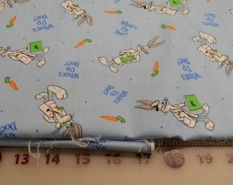 Hard to Find Bugs Bunny Fabric