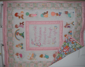 Sleep My Child -Baby Quilt